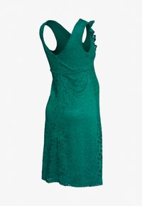 Dorothy Perkins Maternity - OCCASION FIT AND FLARE DRESS - Vestido de cóctel - green - 1
