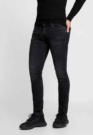 JJIGLENN JJFELIX - Slim fit jeans - black denim