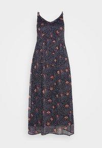 Vero Moda Curve - VMKAY SINGLET DRESS  - Robe longue - dark blue - 3