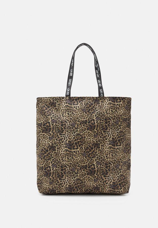 STAMPA - Shopping bag - beige