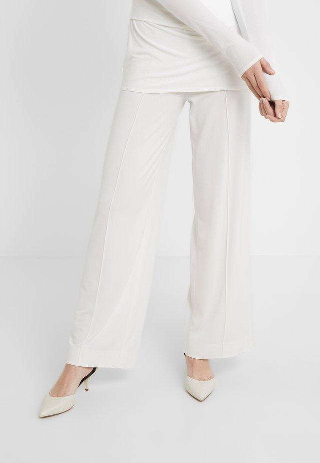 MIELA - Pantaloni - soft white