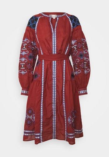 NANCY KAFTAN DRESS