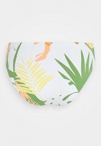 Roxy - WILDFLOWERS FULL BOTTOM - Bikini bottoms - turf green undertone - 1