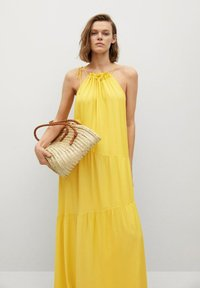 Mango - Maxi dress - lime - 4