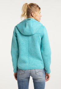 Schmuddelwedda - Fleece jacket - türkis melange - 2