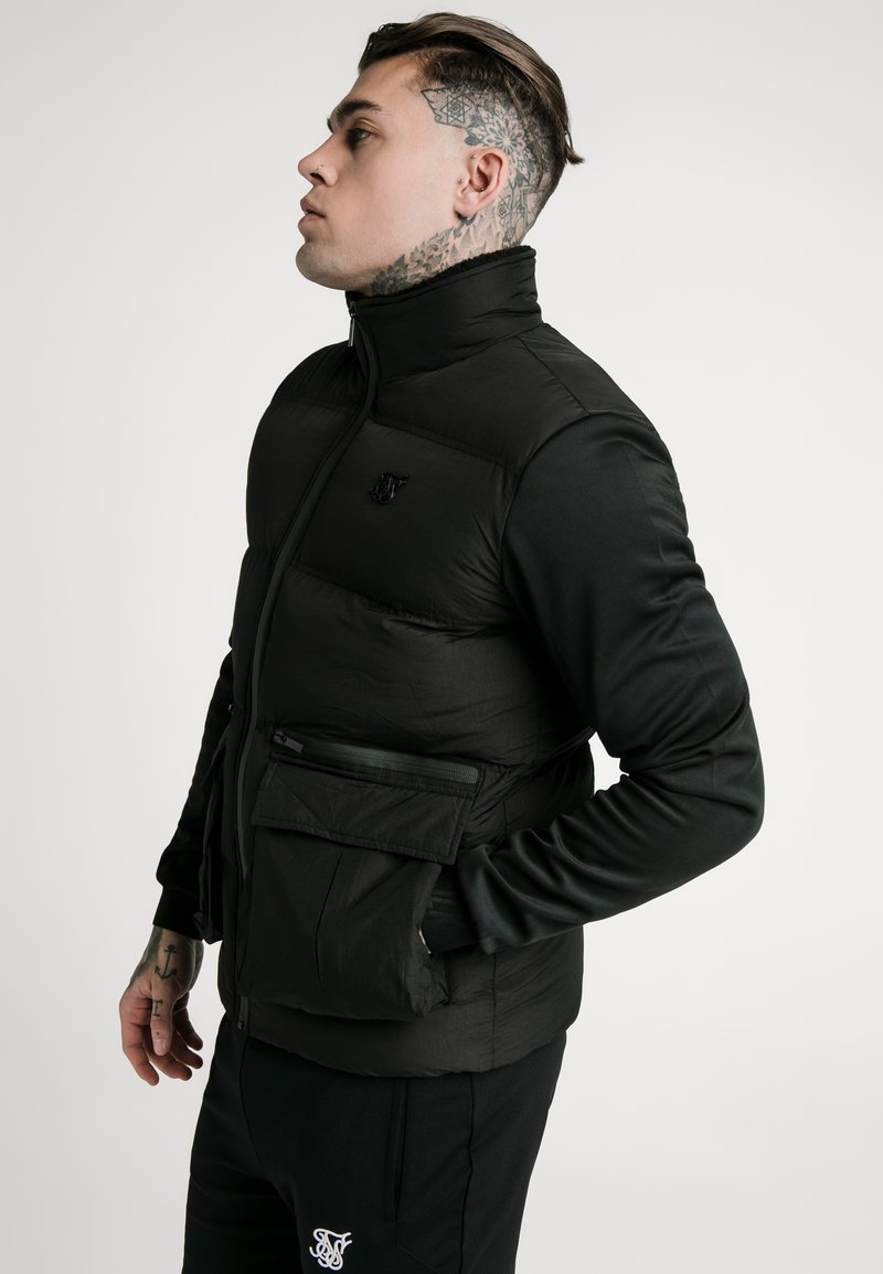 SIKSILK - NEO INSTINCT - Light jacket - black
