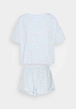 TOVA SET - Pyjamas - blue light rosey