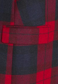 Tommy Hilfiger - BLEND CHECK CLASSIC COAT - Classic coat - primary red - 2