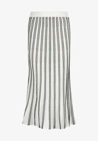 Nicowa - MINOWA - A-line skirt - white/black - 4