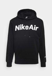 Nike Sportswear - AIR HOODIE - Felpa con cappuccio - black/white - 4