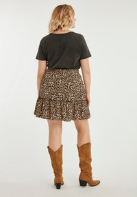 MS Mode - A-line skirt - sand - 2