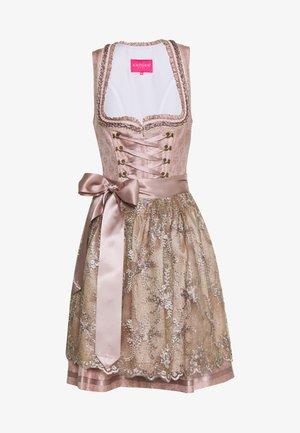Oktoberfestklær - beige/rose