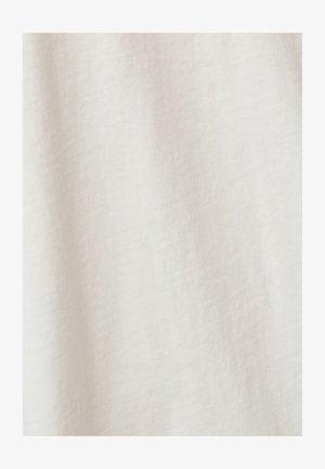 RAW DOT GR CARRN ROUND SHORT SLEEVE - Print T-shirt - milk