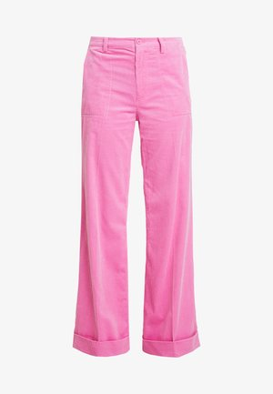KELLY TROUSERS - Kalhoty - bubble gum pink
