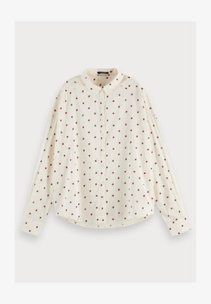 Button-down blouse - combo a