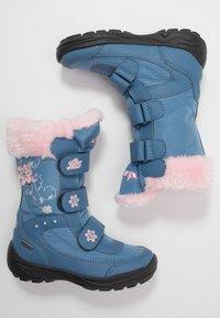 LICO - MARY - Zimní obuv - blau/rosa - 0