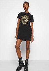 Versace Jeans Couture - DRESS - Jersey dress - black - 6