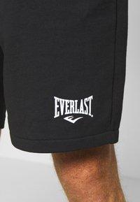 Everlast - LOUIS - Sportovní kraťasy - black - 3