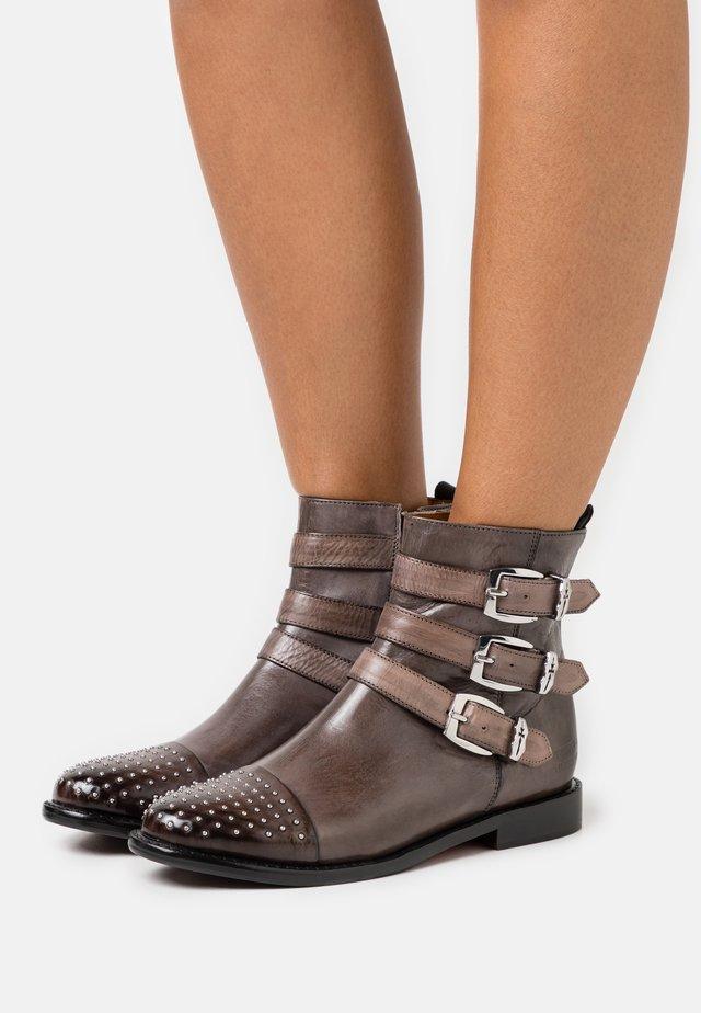 SELINA - Cowboy/biker ankle boot - black