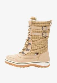 KangaROOS - RIVASKA - Winter boots - beige/green/white - 1