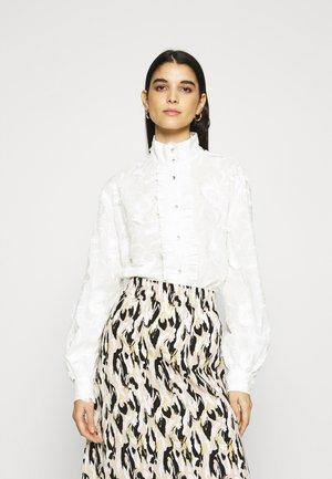 ETTA - Button-down blouse - whisper white