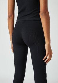 PULL&BEAR - Leggings - Trousers - black - 4