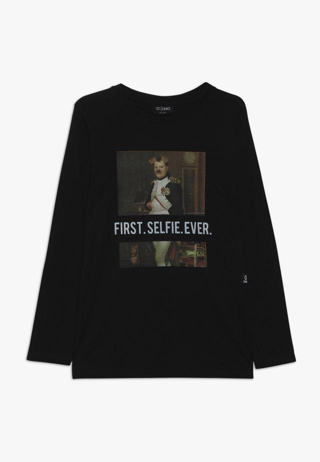 BUTLER  - T-shirt à manches longues - black