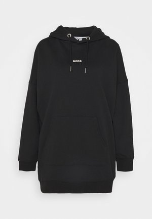 MAJESTY OVERSIZED HOOD - Hoodie - black beauty