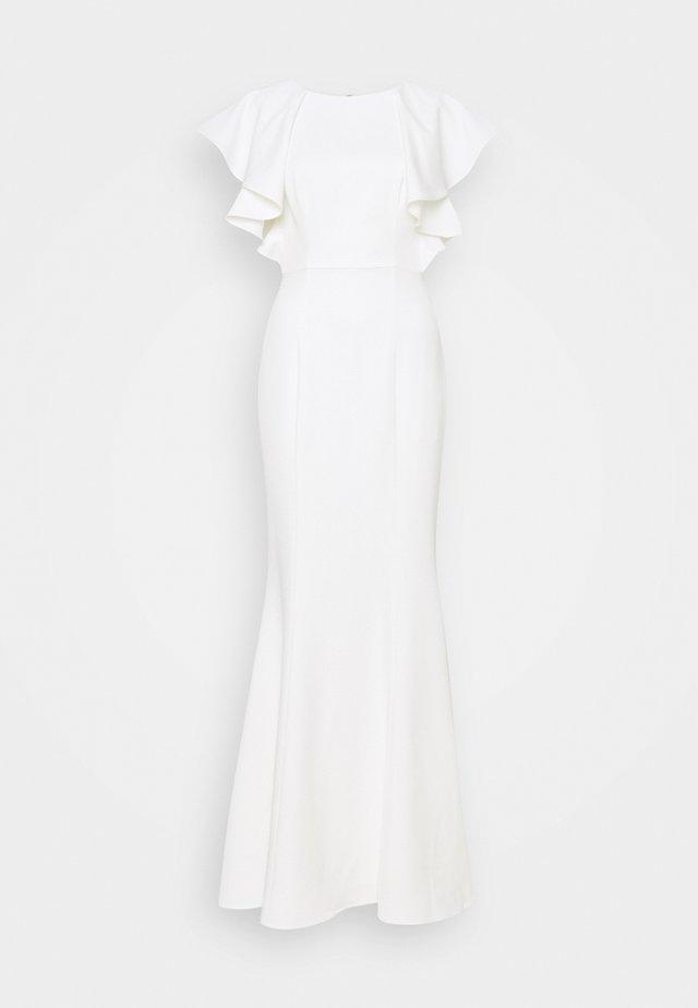 OPAL - Společenské šaty - white