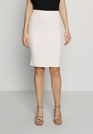 SKIRT - Jupe crayon - off white