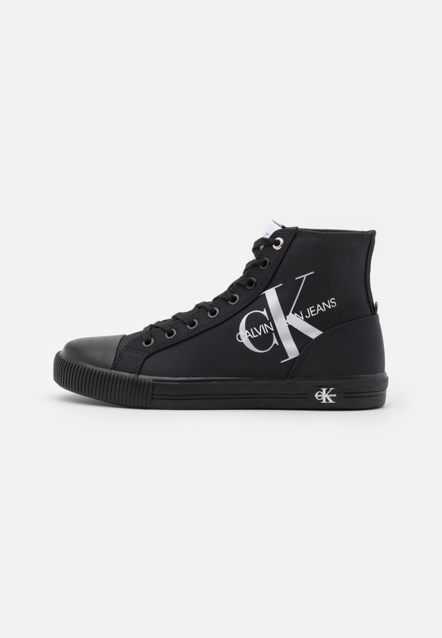 VULCANIZED - Sneakersy wysokie - full black