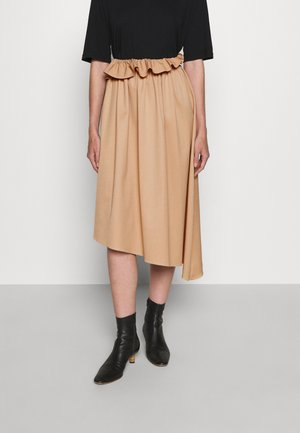 SKIRT - A-line skirt - nude