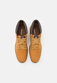 Timberland - BRADSTREET CHUKKA - Lace-up ankle boots - wheat - 3