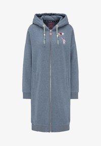 myMo - Zip-up hoodie - marine melange - 4