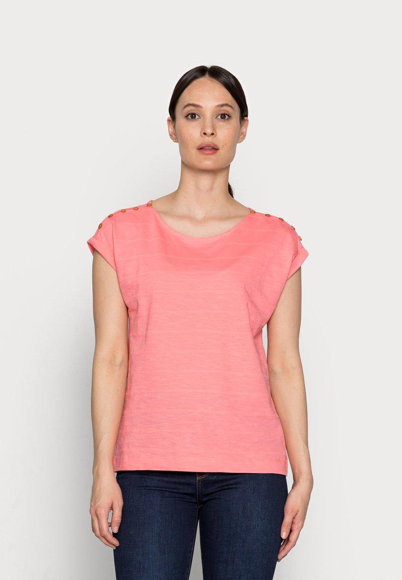 Esprit - TEE - Basic T-shirt - coral