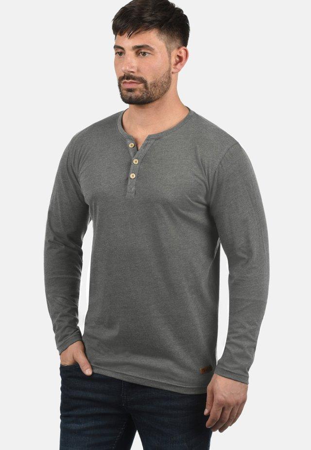 VOLKO - Long sleeved top - grey melange