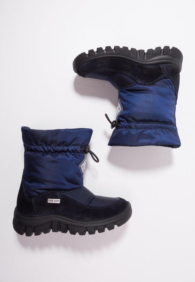 VARNA - Snowboots  - blau