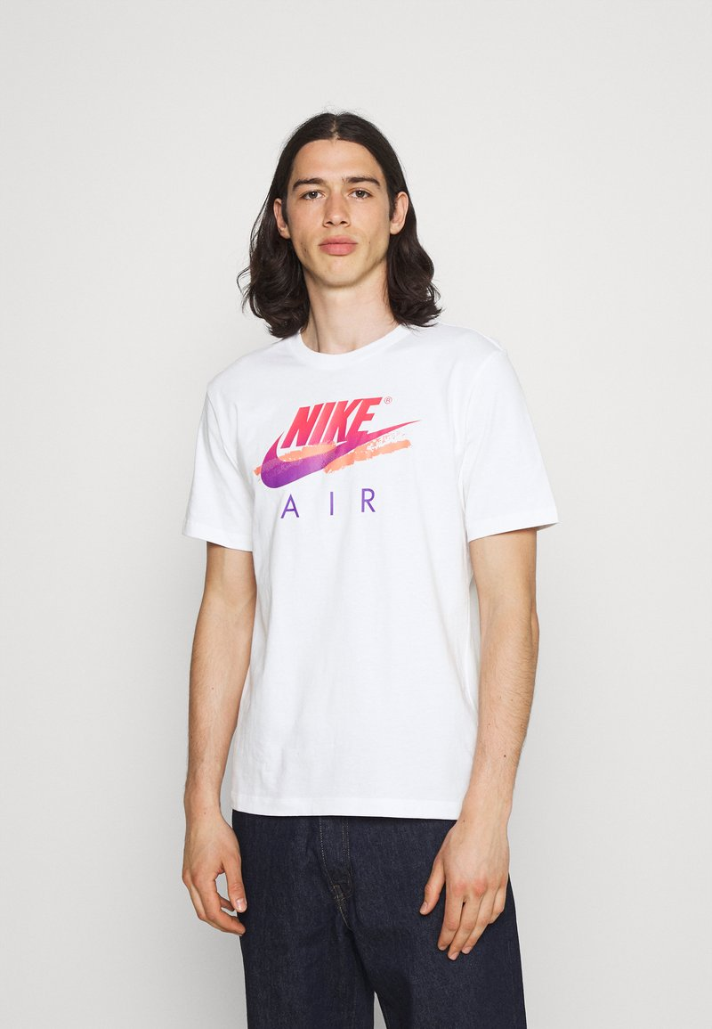 Nike Sportswear - TEE FUTURA - T-shirt med print - white