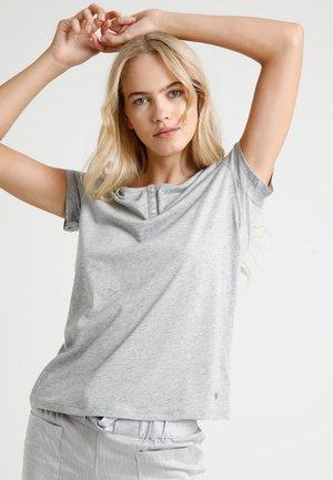 HENLEY - Nattøj trøjer - grau-melange