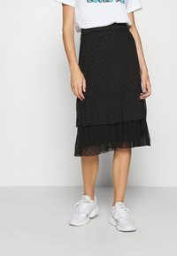 Even&Odd - A-line skirt - black - 0