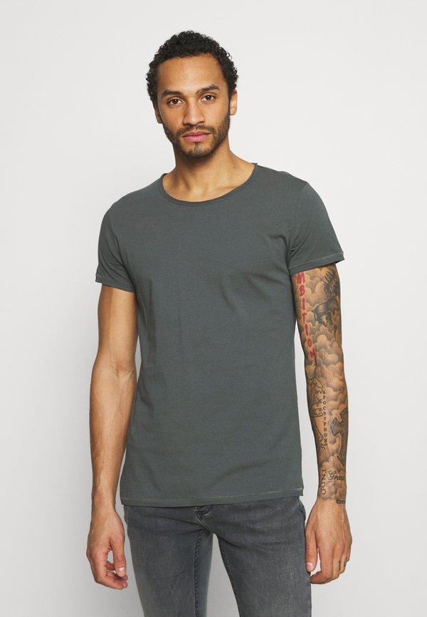 Tigha WREN - T-shirt basic - asphalt/szary Odzież Męska KVCB