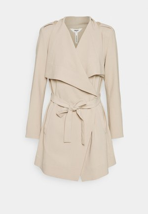 OBJANNLEE SHORT JACKET - Trenchcoat - humus