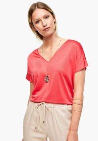 s.Oliver BLACK LABEL - Print T-shirt - popsicle pink - 0