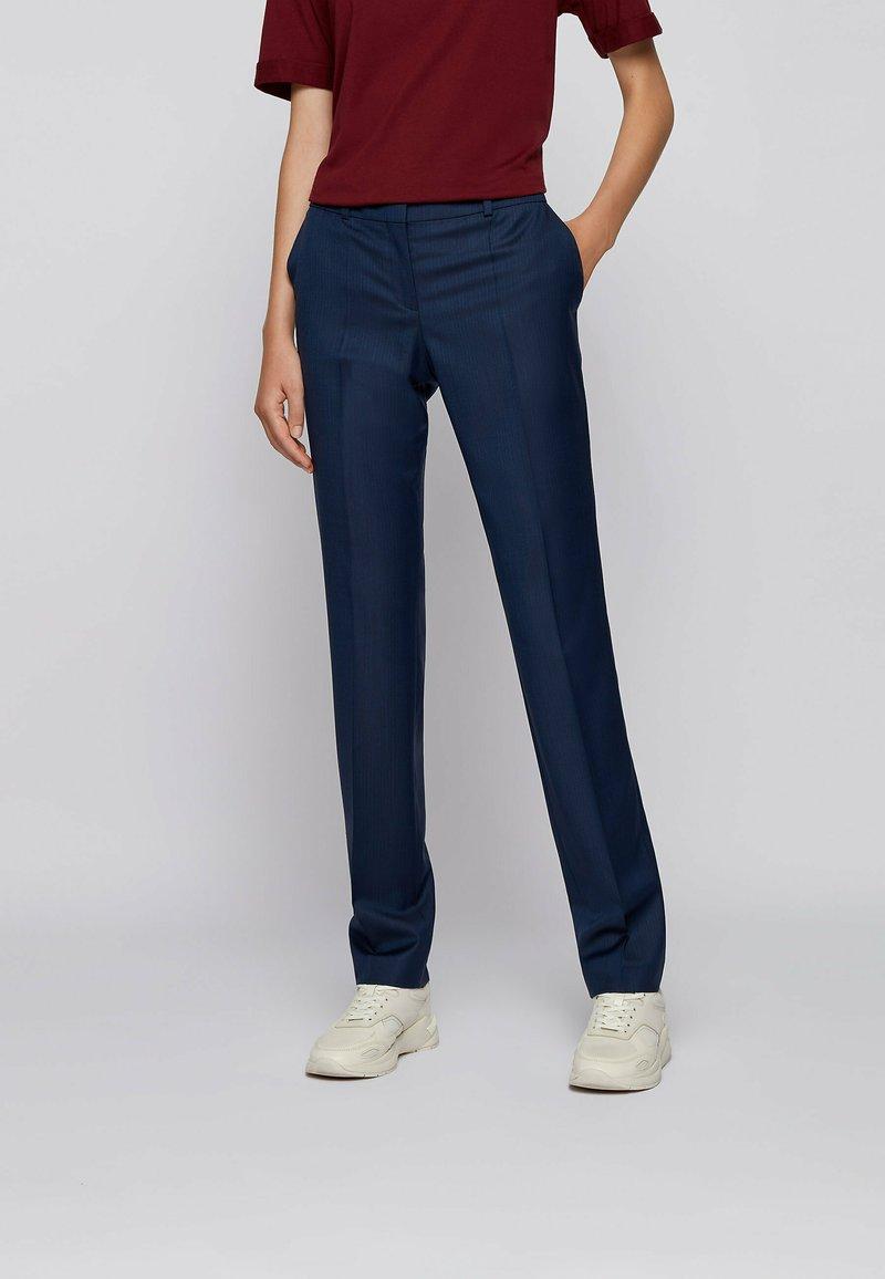 BOSS - Trousers - blue