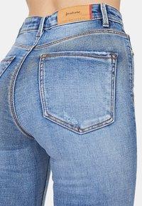 Stradivarius - Jeans Skinny Fit - blue denim - 4