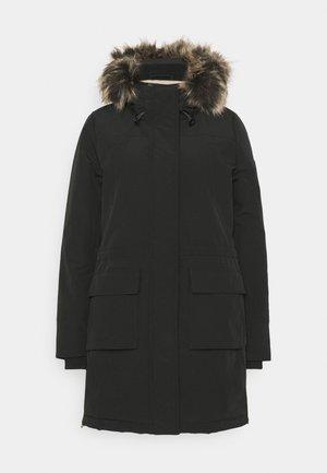 ONLNEWSALLY LONG COAT - Vinterkåpe / -frakk - black