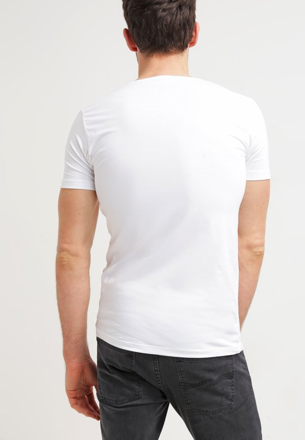 Petrol Industries 2 PACK - T-shirt basic - white/biały Odzież Męska SFVA