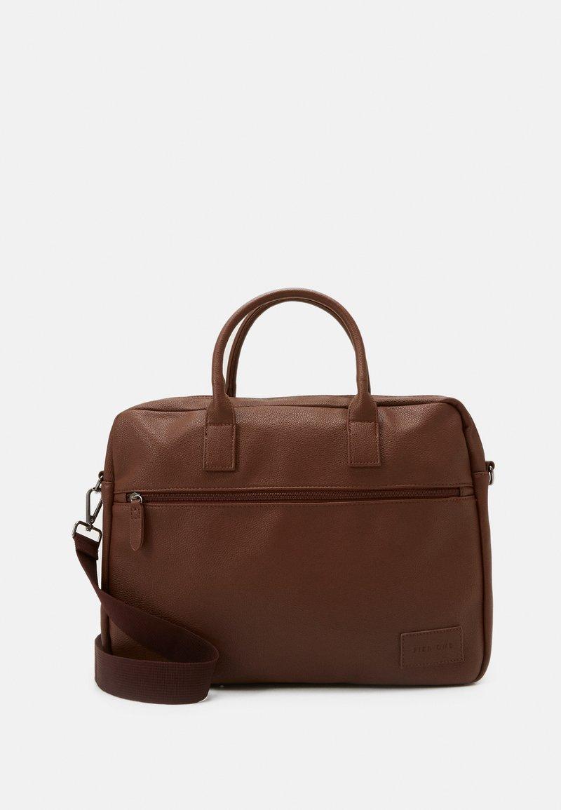 Pier One - Briefcase - cognac