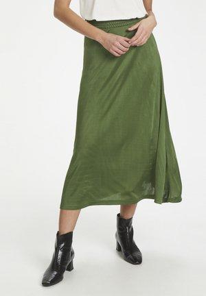 A-lijn rok - garden green