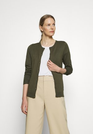 ASTRID CARDIGAN - Cardigan - grape leaf